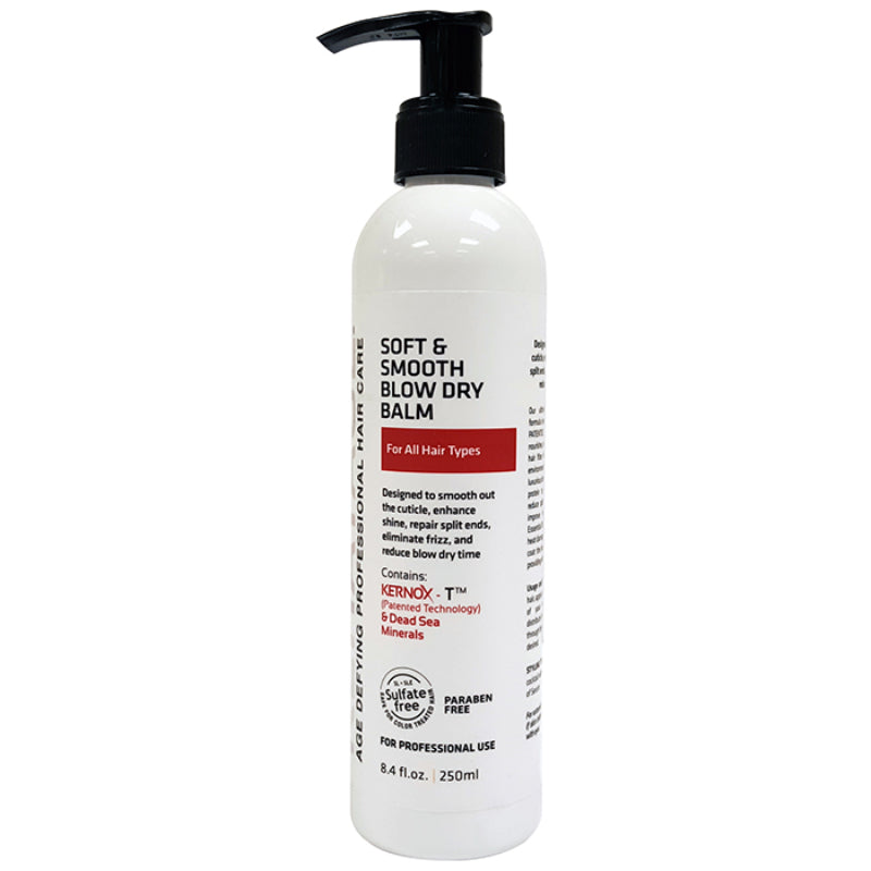 Soft & Smooth Blow Dry Balm - Eliminate Frizz And Repairs Split Ends  I  250 ML