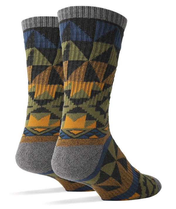 Men's Autumn Night Athletic Crew Socks