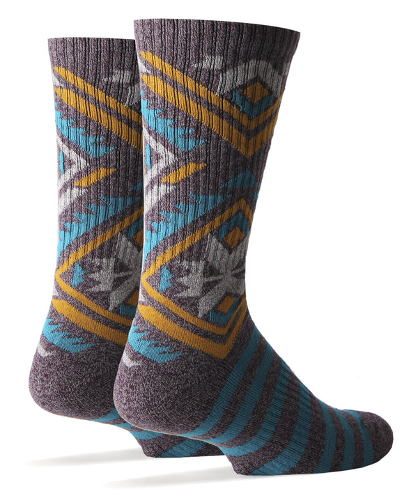 Men's Blue Peak Athletic Crew Socks