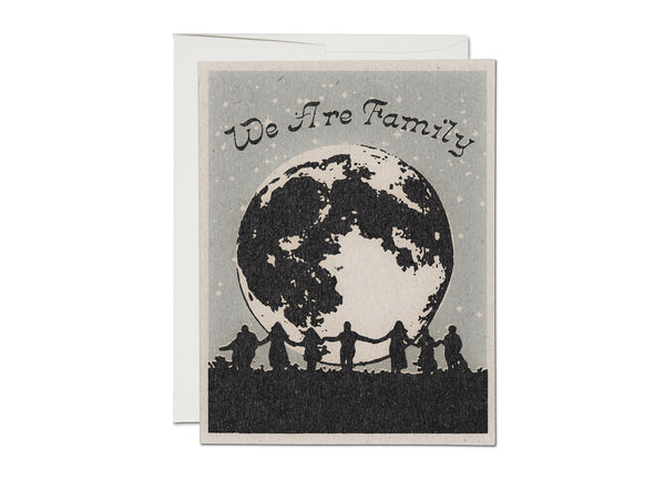 We Are Family Card