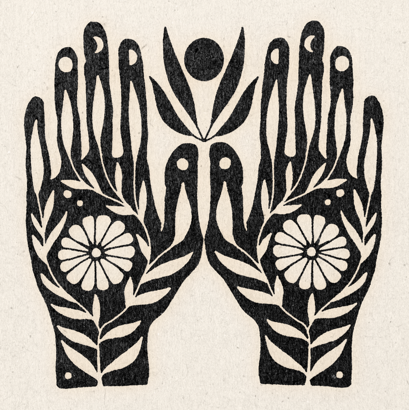 Growth In Your Hands Print