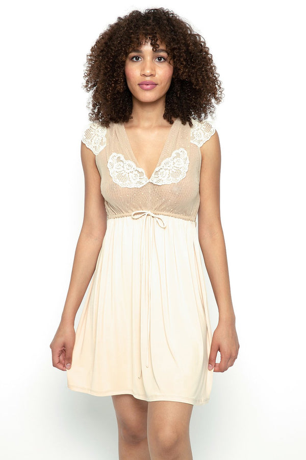 Honeymoon Dress in Nude