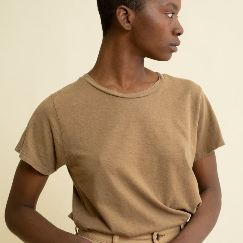 Jungmaven Lorel Tee in Coyote