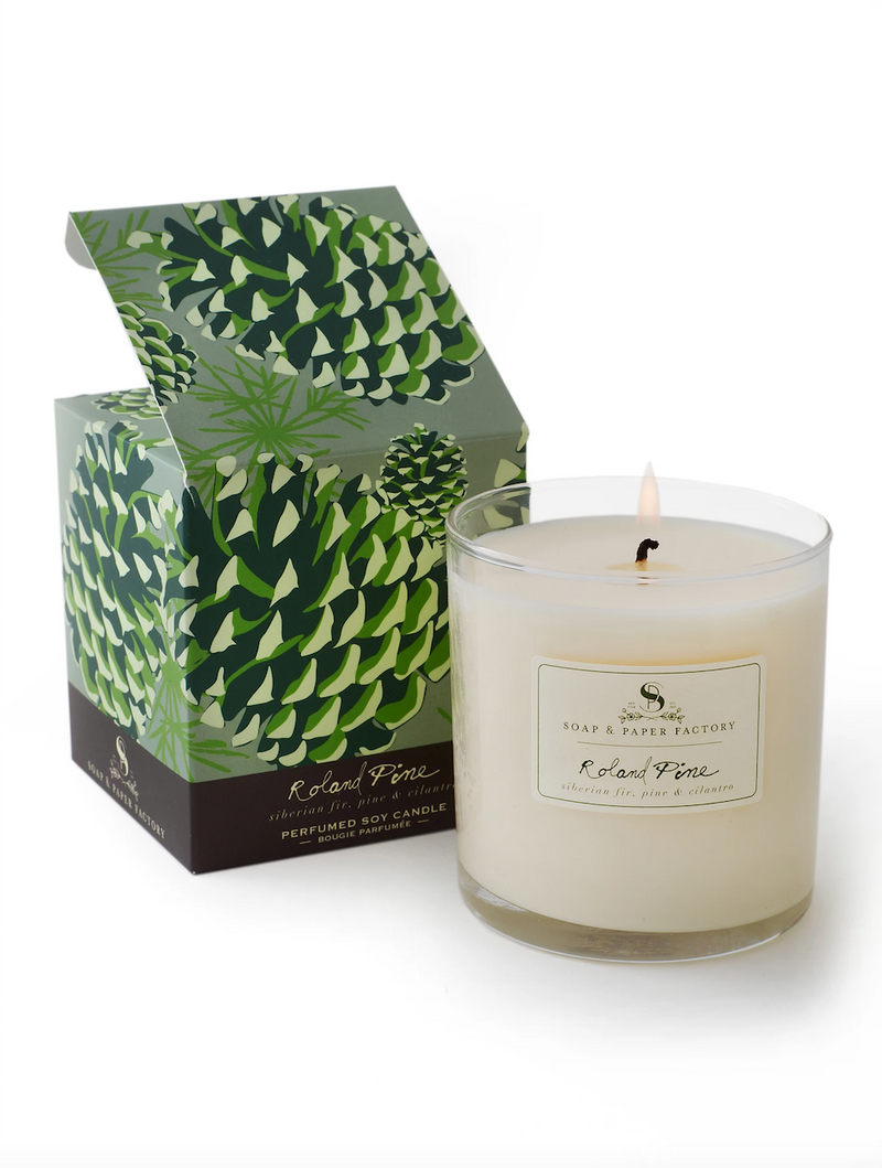 Roland Pine Large Soy Candle (9.5 oz)