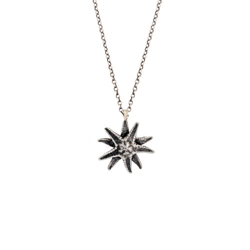Lauren Wolf Silver Starfish Necklace