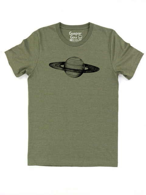 Saturn Tee (men's) - army green