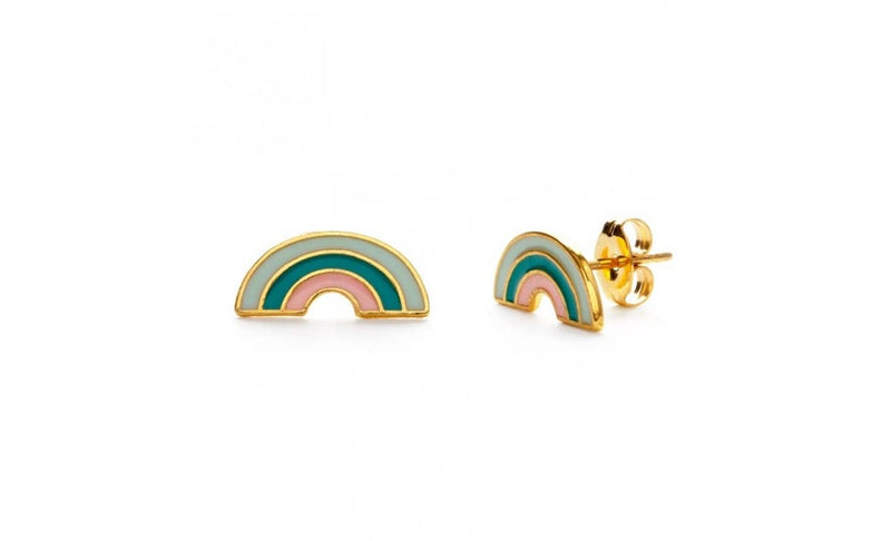 Tropical Rainbow Studs