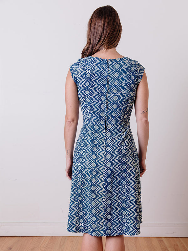 Marseille Dress in Aegean Print