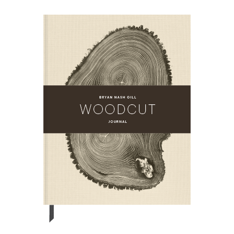 Woodcut Hardcover Journal