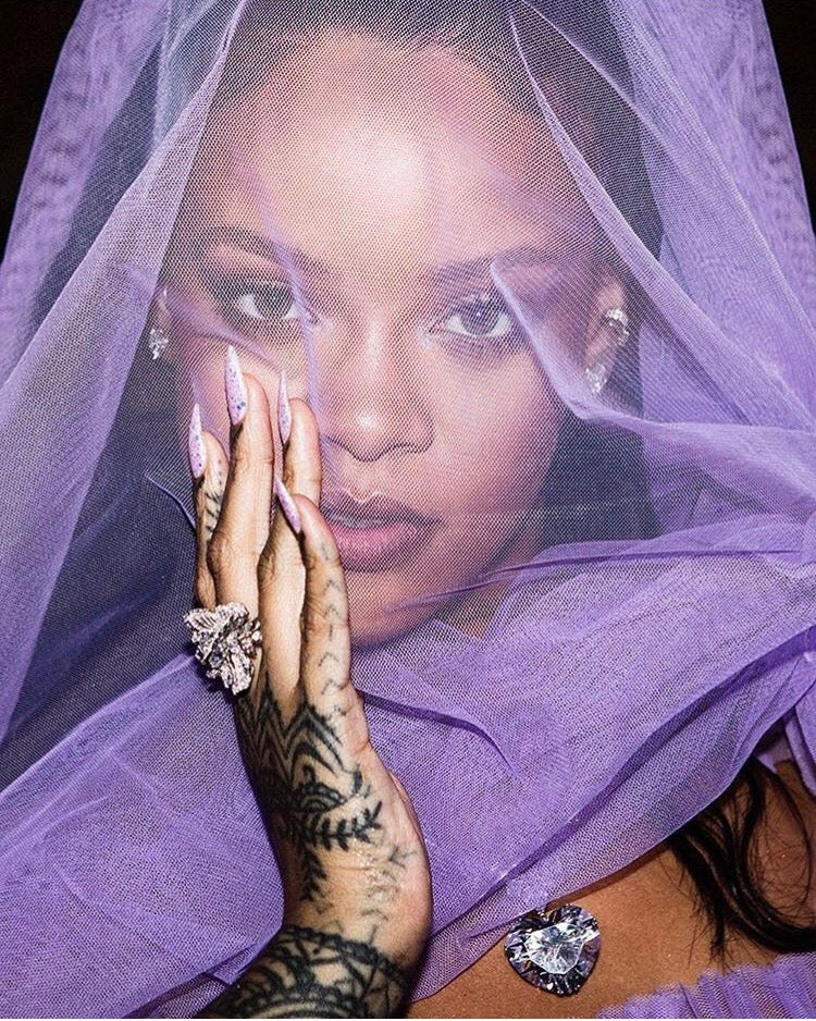 The Diamond Peony Butterfly Ring As Seen On Rihanna