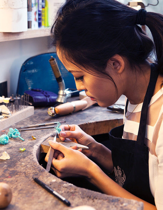 Anabela Chan Joaillerie Guest Lecturer at the Royal College of Art
