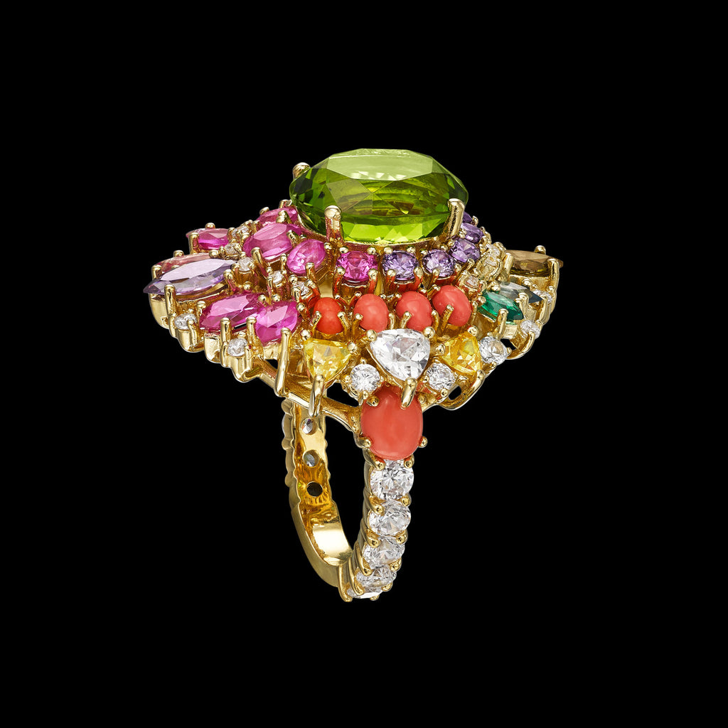 Mirage Tourmaline Ring