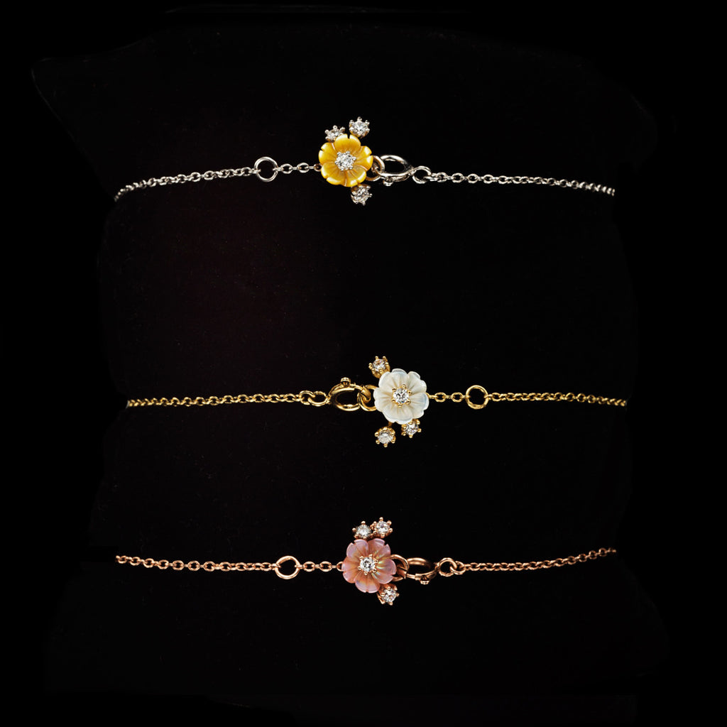 Rose Swallow Bracelet