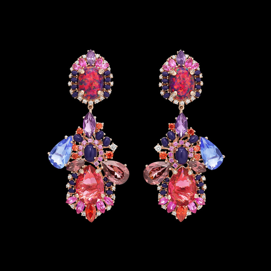 Violet Opal Nereides Earrings