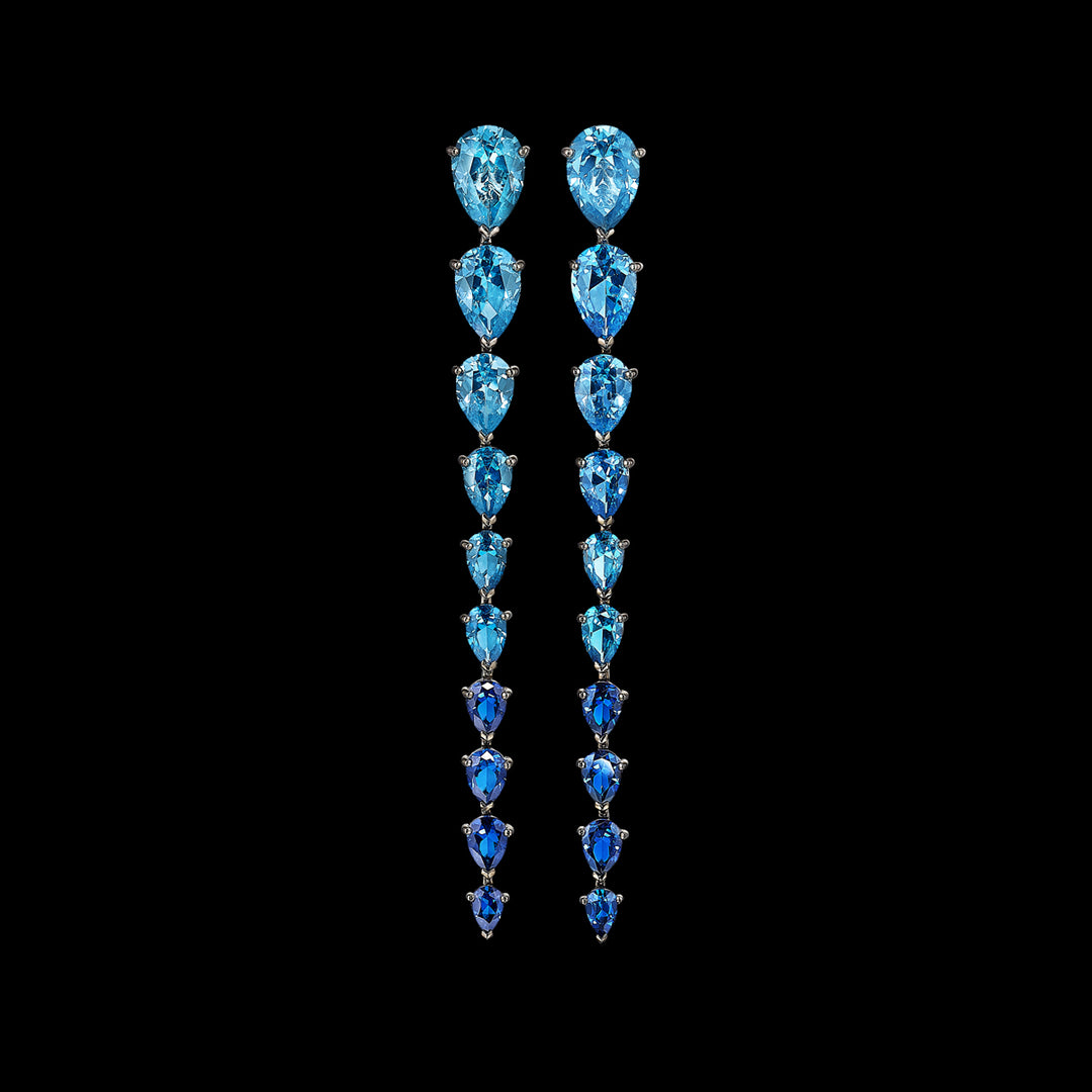 Aqua Nova Earrings