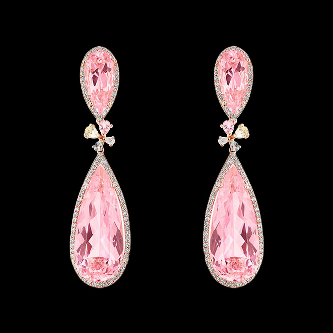 Blush Papillon Earrings