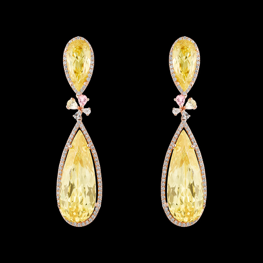 Canary Papillon Earrings