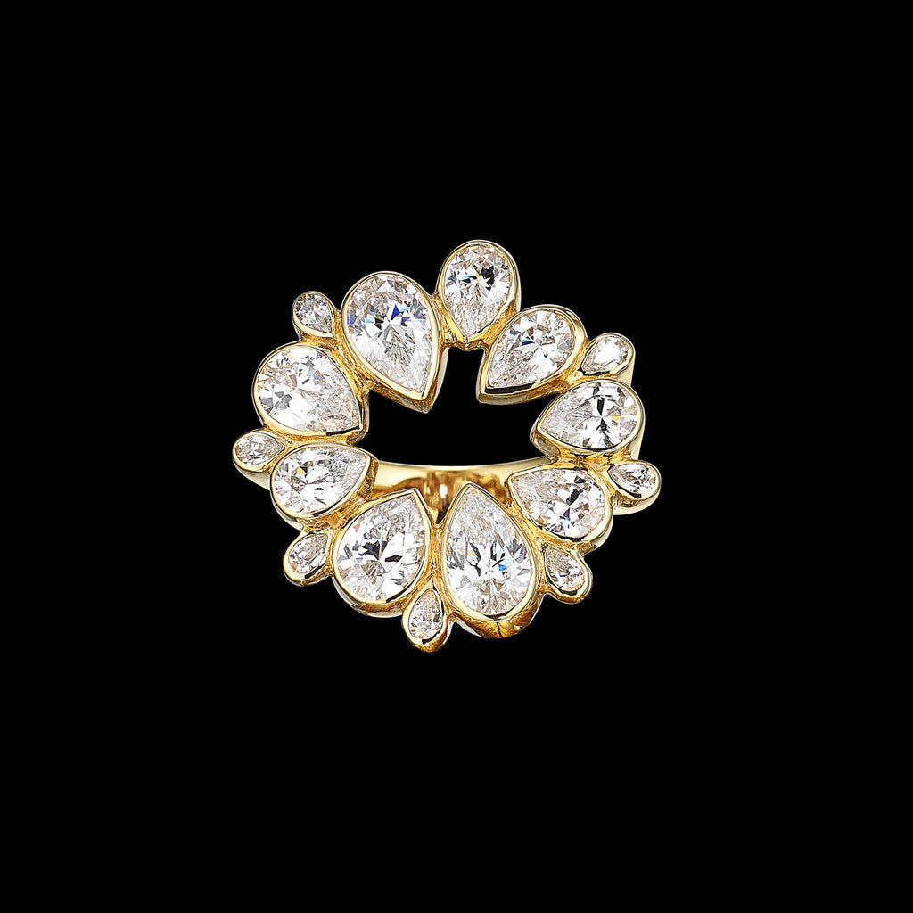 Diamond Panettone Ring