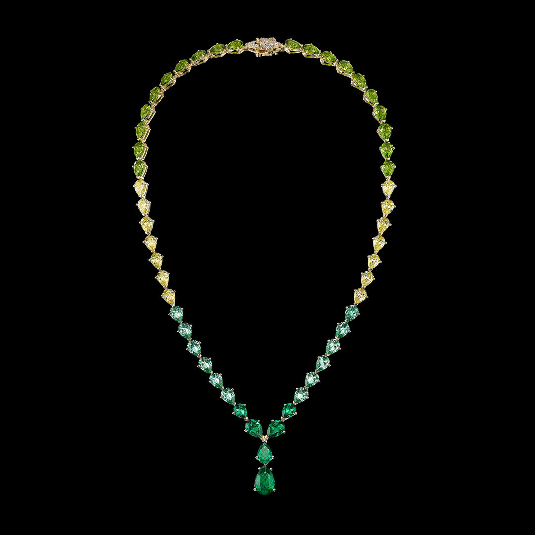 Emerald Nova Necklace