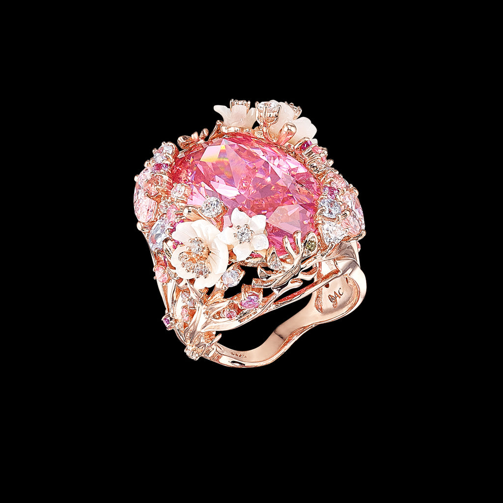 Pale Rose Paradise Ring