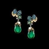 Greenberry Drop Earrings