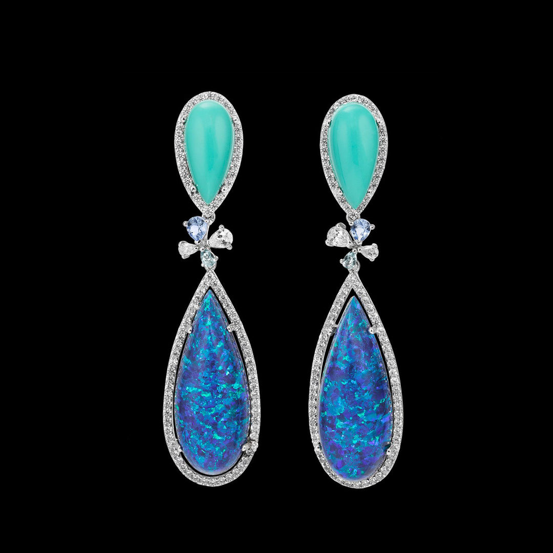 Opal Papillon Earrings