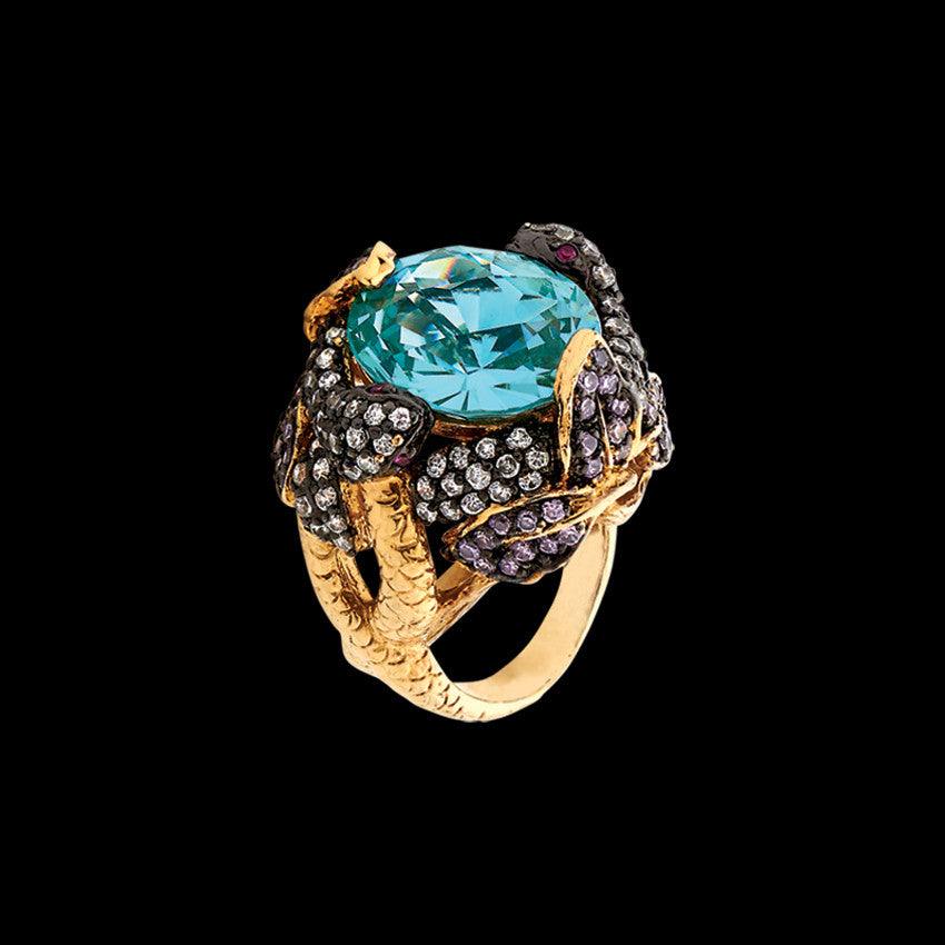 Serpent & Vine Ring