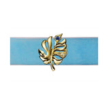 Baby Blue Palm Choker