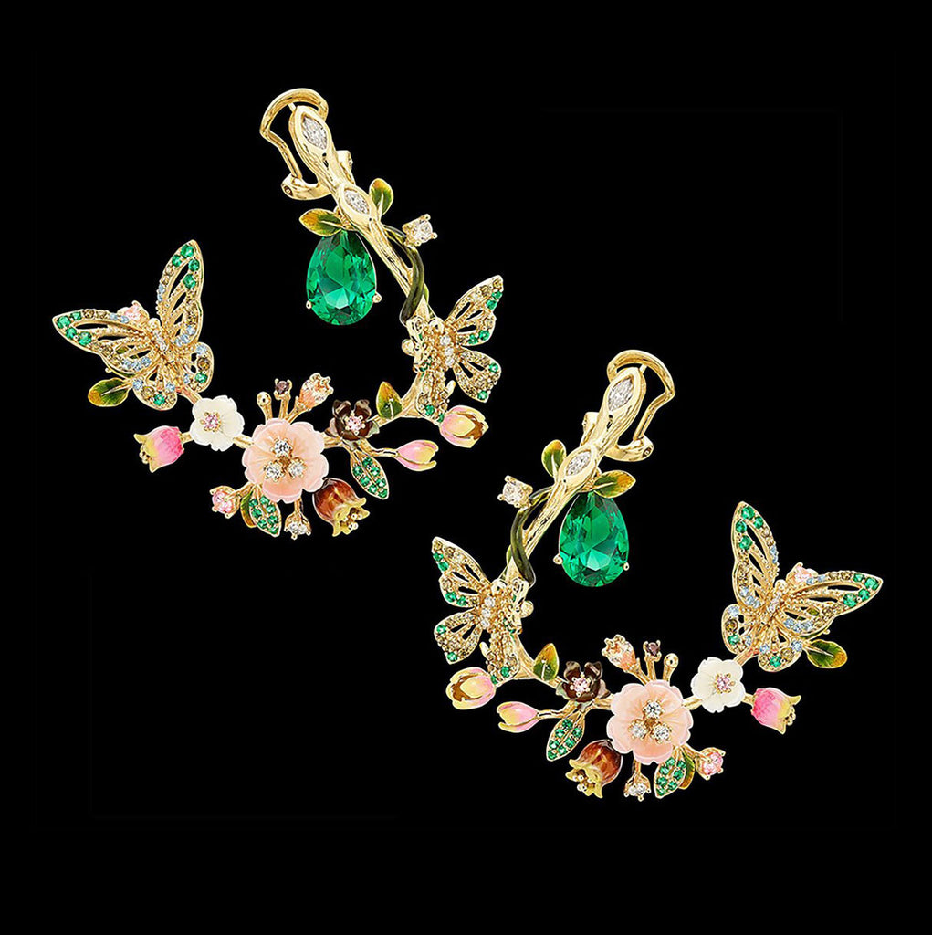Butterfly Garland Earrings