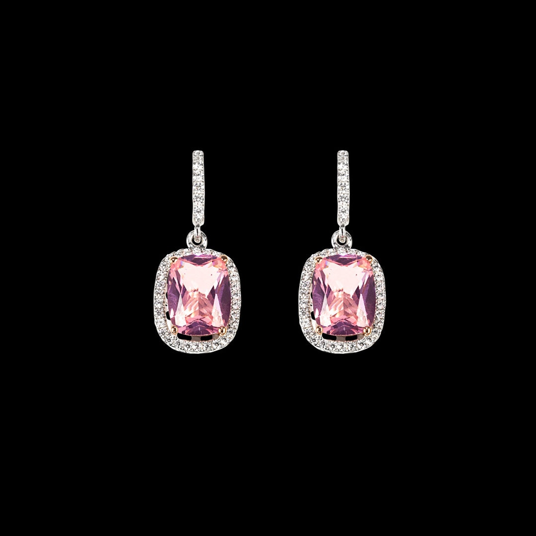 Comet Morganite Earrings