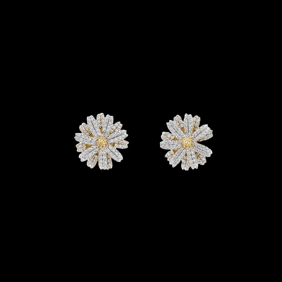 Daisy Diamond Earrings