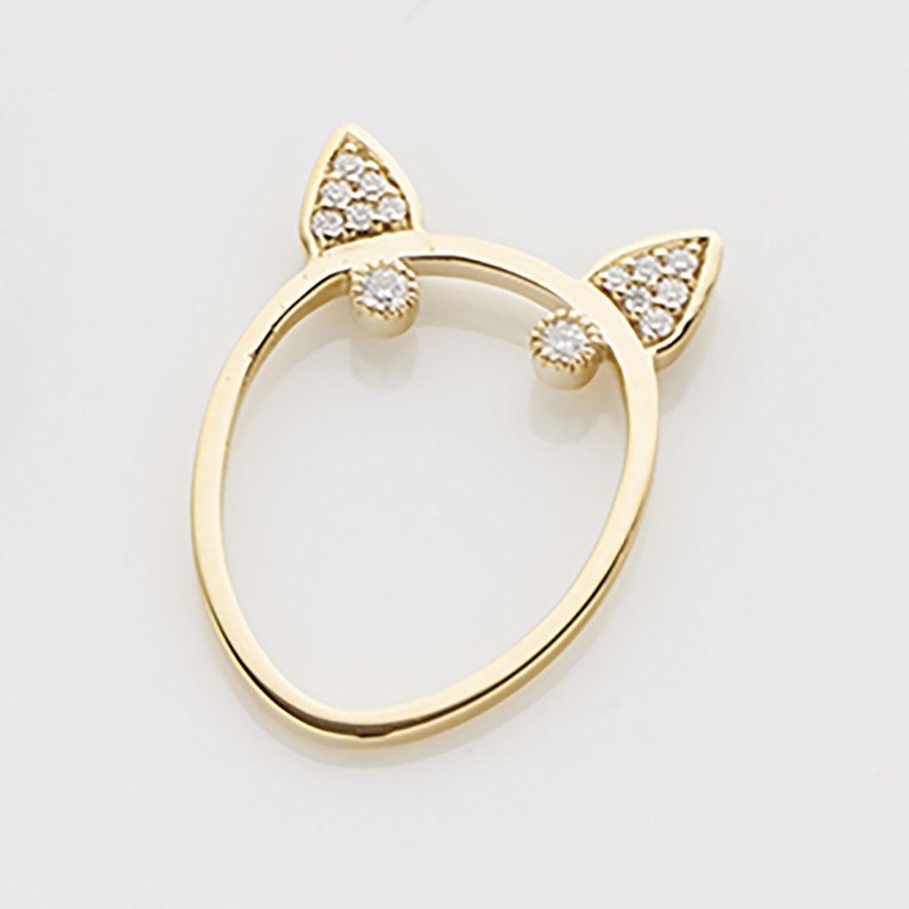 Diamond Terrier Ring