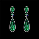 Emerald Papillon Earrings