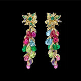 Rainbow Coralbell Earrings
