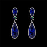 Sapphire Papillon Earrings