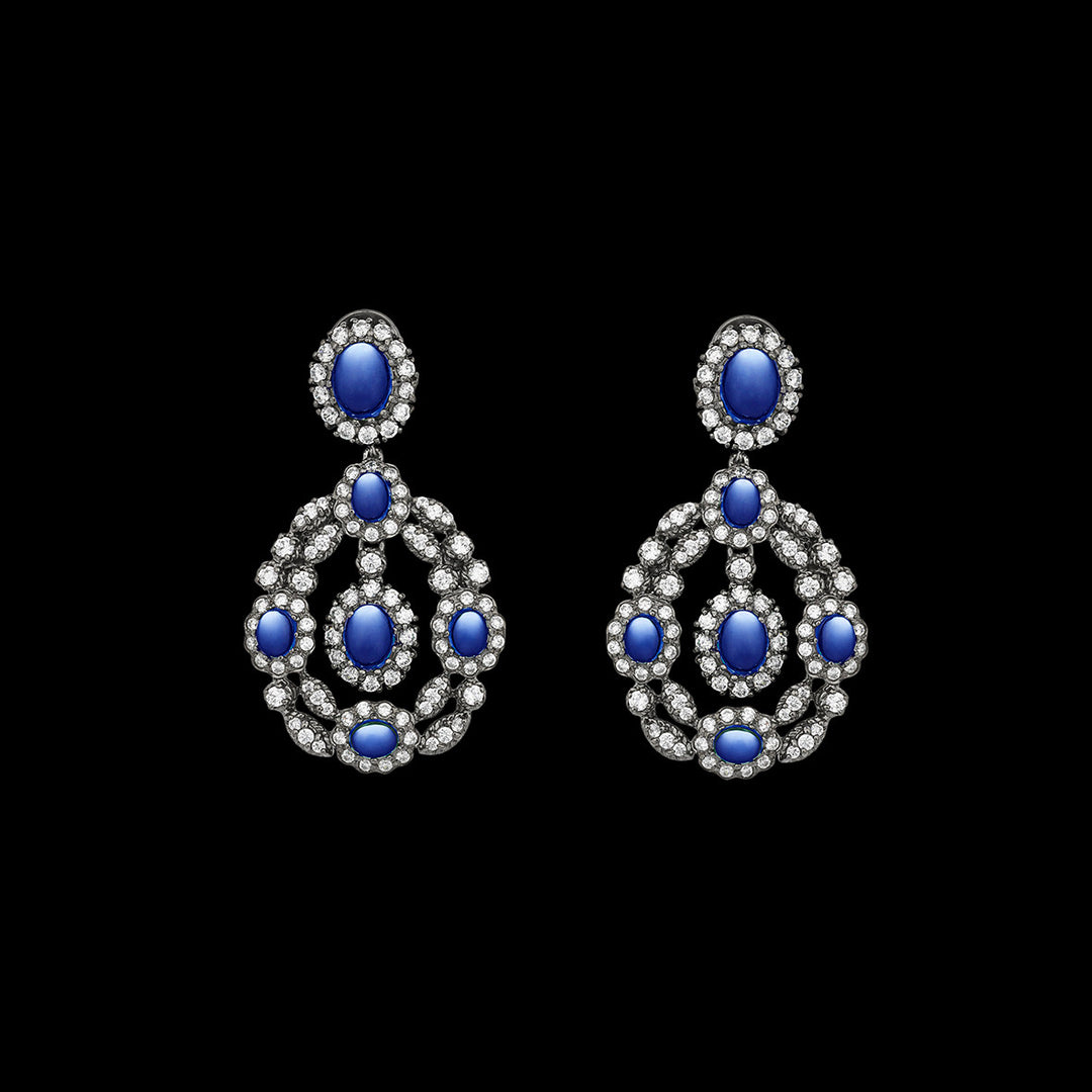 Treasure Sapphire Earrings