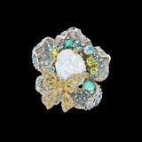 Sky Opal Bloom Ring