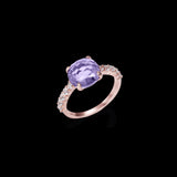 Spectra Amethyst Ring (faceted)