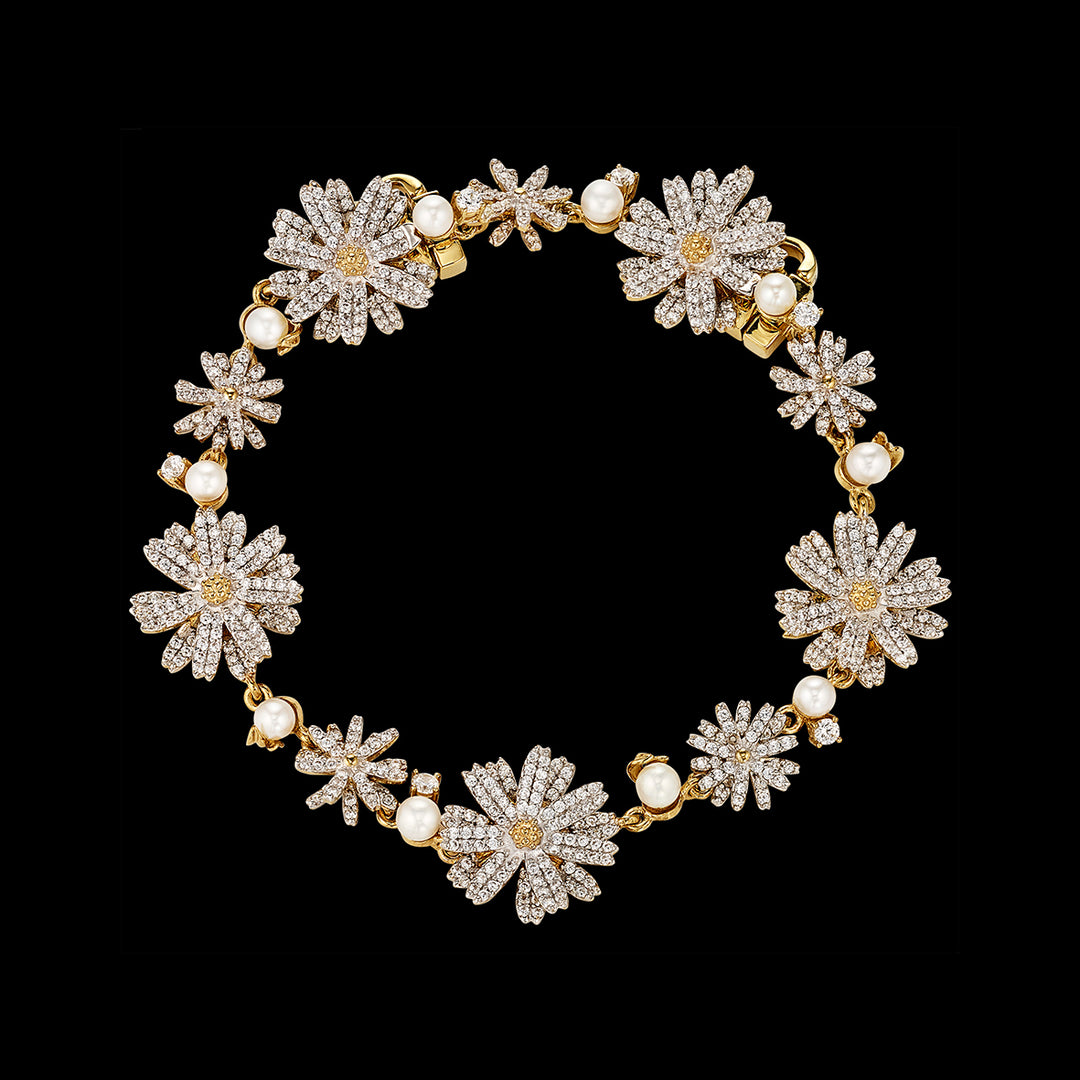 Daisy Diamond Bracelet