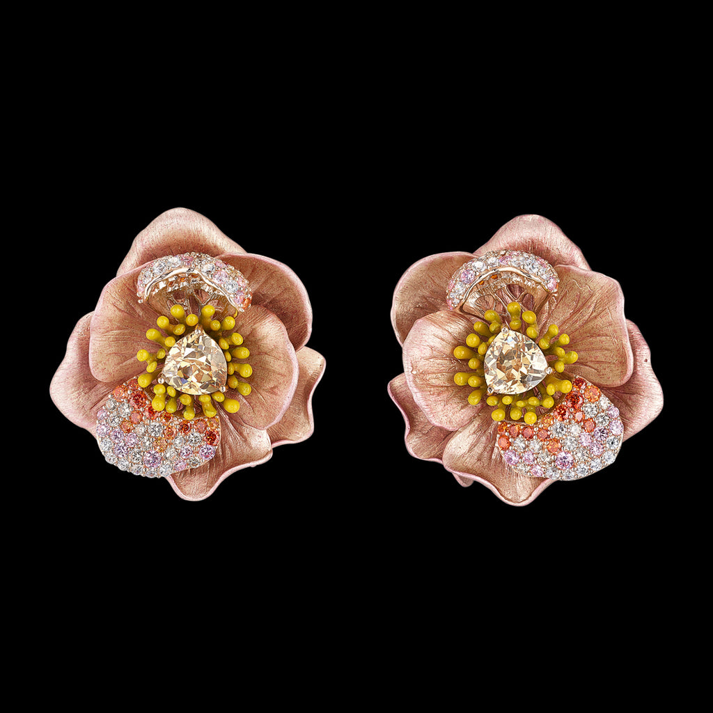 Blush Bloom Earrings