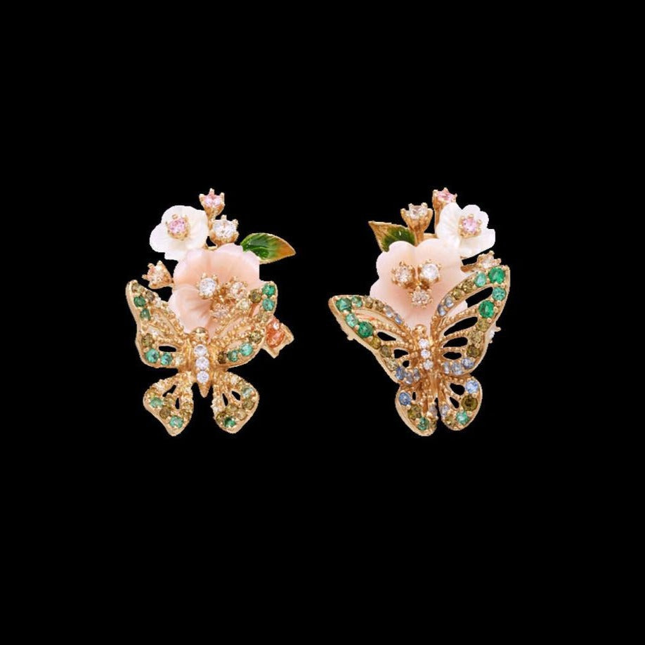 Butterfly Bouquet Earrings