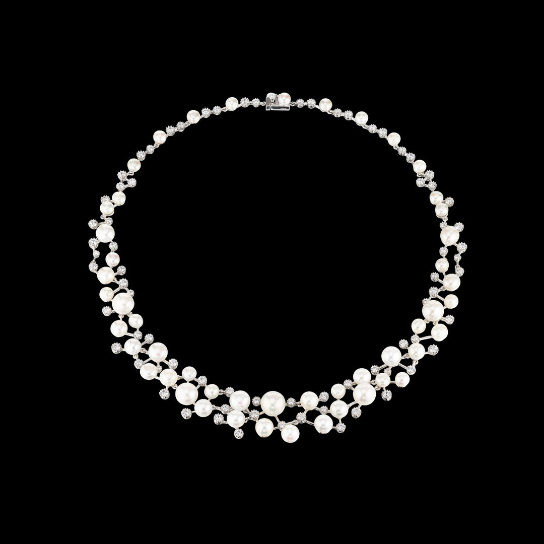 Constellation Pearl Necklace