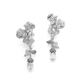 AC x Diamond Foundry . Orchid Earrings