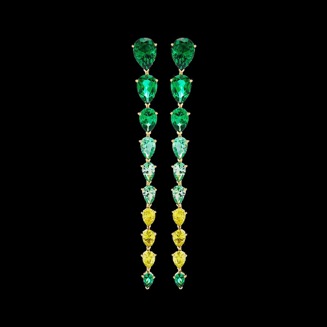 Emerald Nova Earrings
