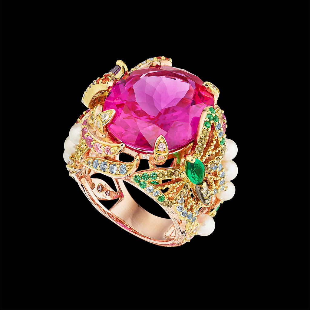 Rose Swallowtail Ring