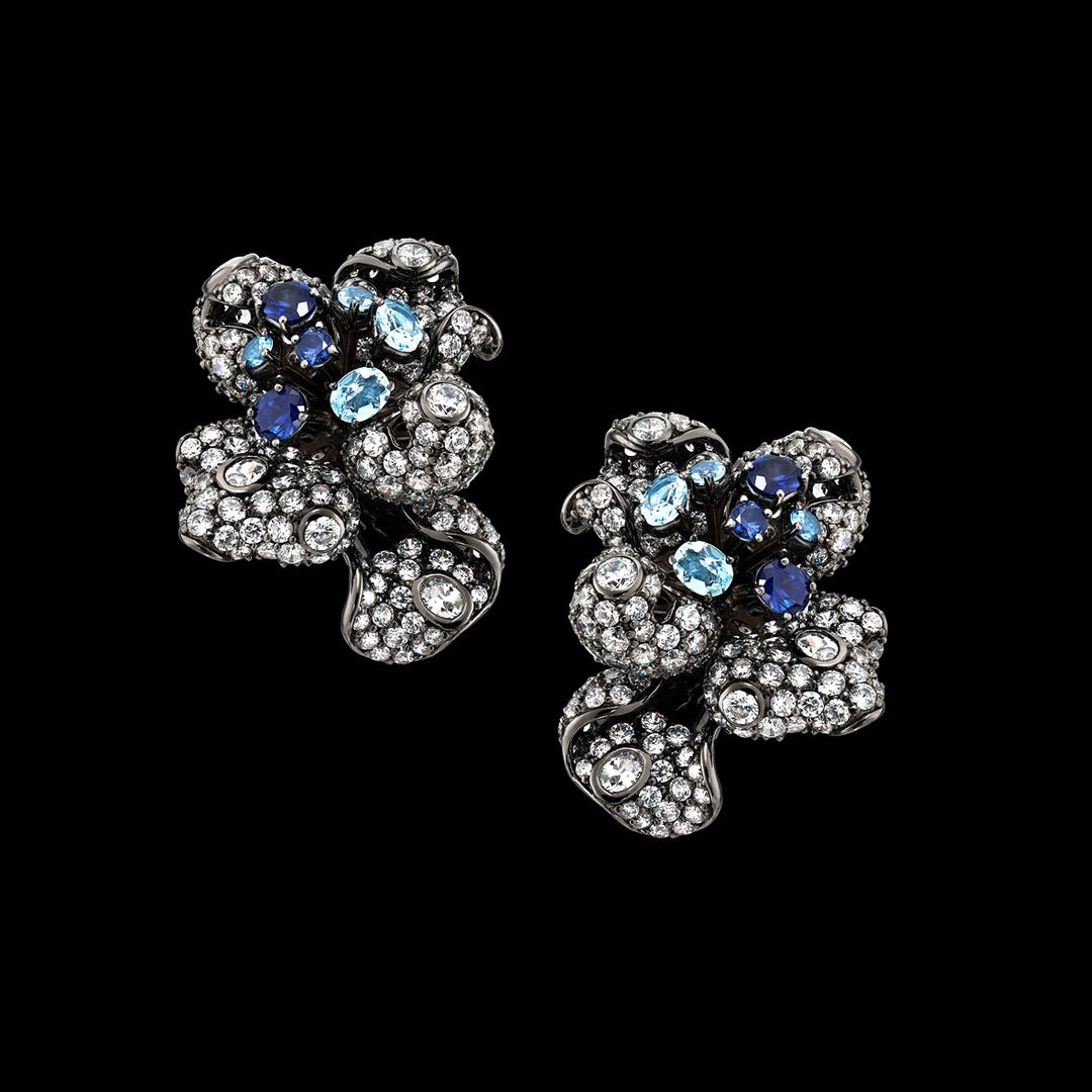 Sapphire Bloomingdale Earrings