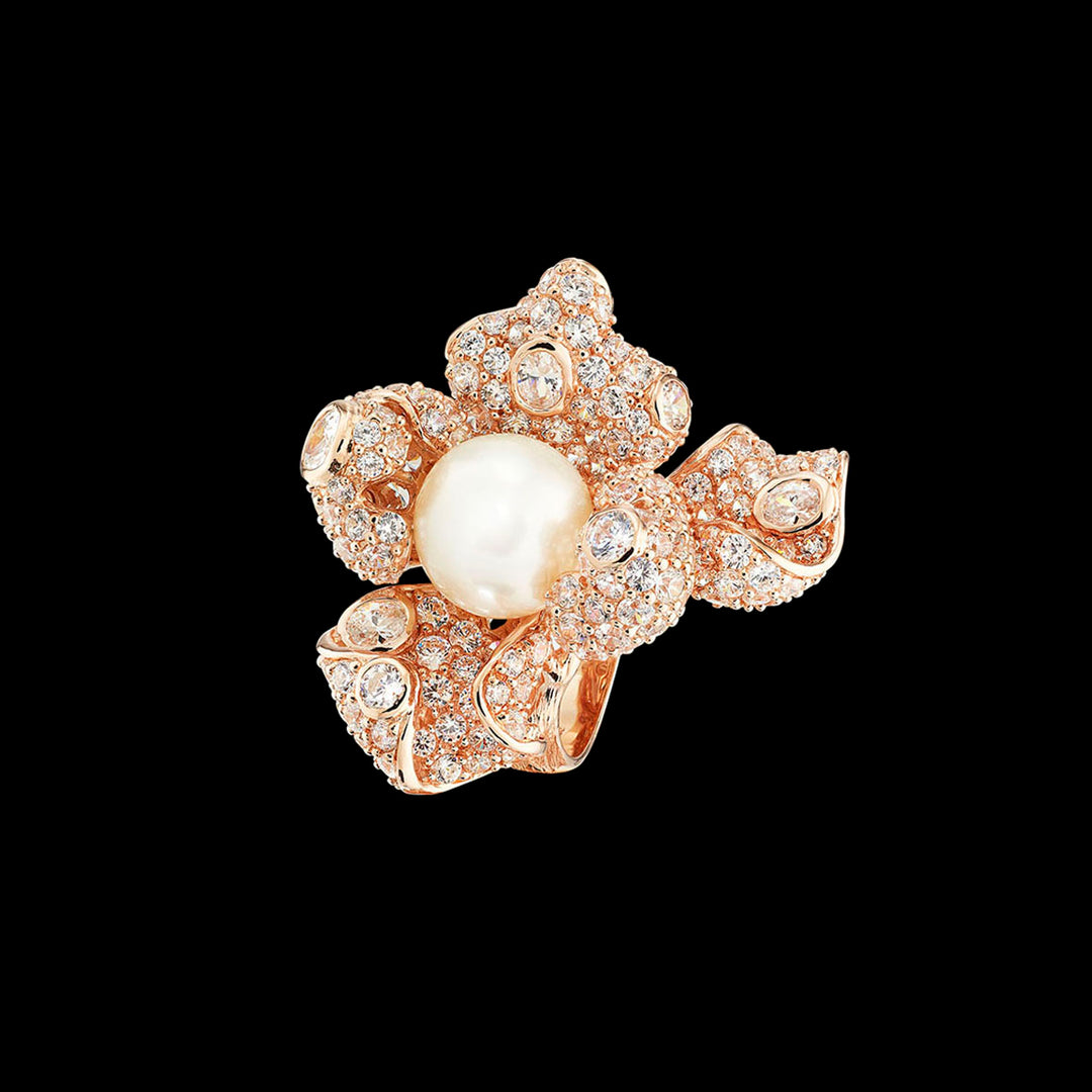 Rose Mini Blossom Ring