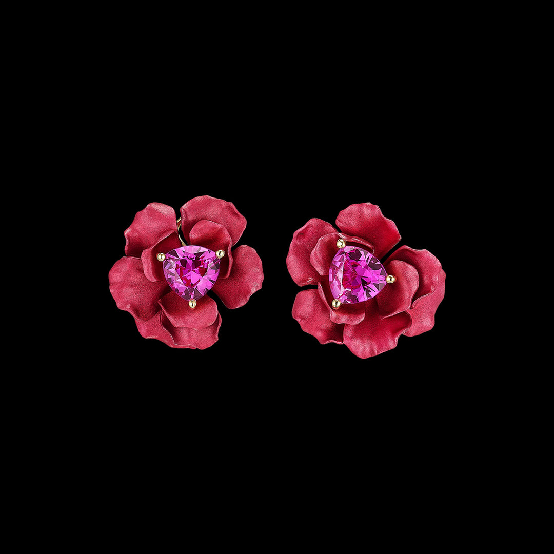 Ruby Rose Studs