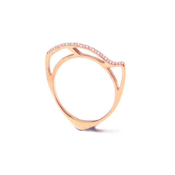 Morpho Ring - edition 2- Rose Gold