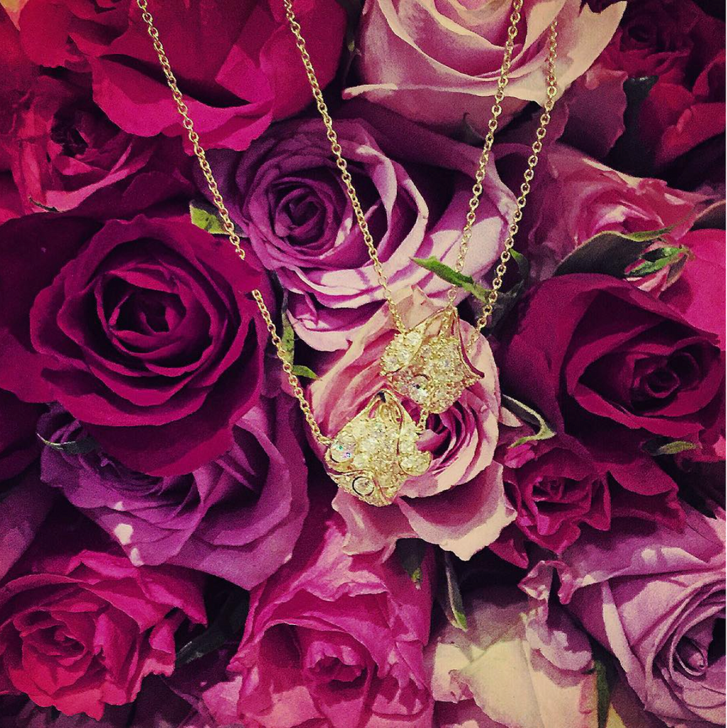 Gold Petals Necklace